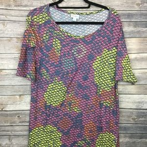 LuLaRoe 2XL Julia dress